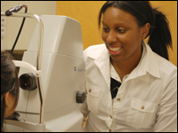 Keyona at Lakewood Eye Care in Washington